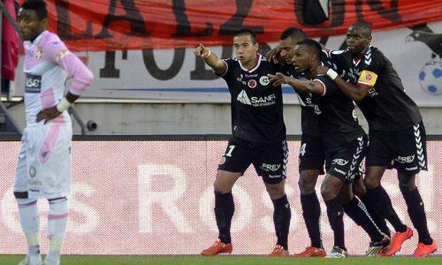 2014 Ligue 1 J36 EVIAN TG REIMS 2-3, le 09/05/2015
