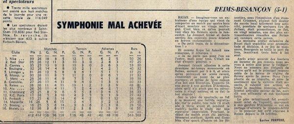 1964 D2 J26 REIMS BESANCON 5-1, le 10/04/1965