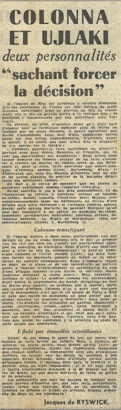 1955 D1 J03 REIMS NICE 1-3, le 04/09/1955