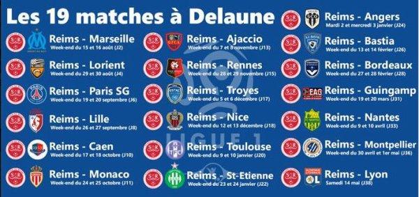 2015 Le Calendrier  2015-2016 de la Ligue 1 , le 18/06/2015