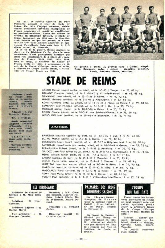 1964 D2 J00 : Sur la Ligne de départ , le 01/08/1964