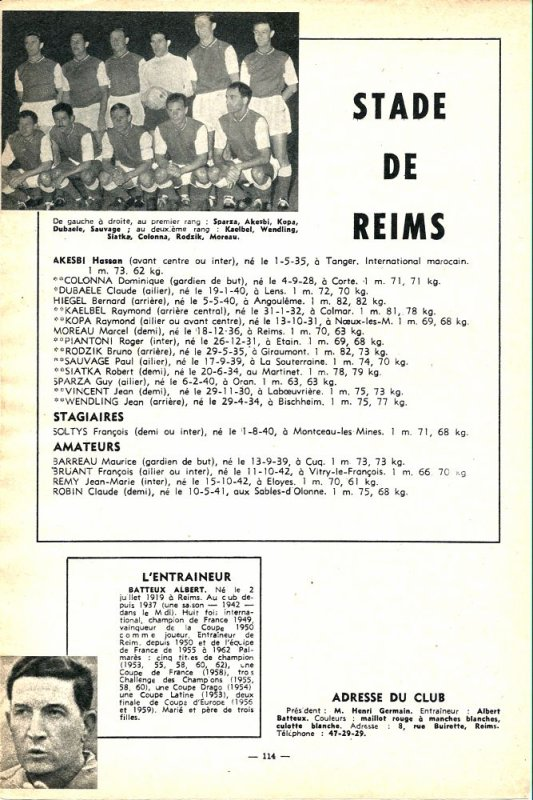 1962 D1 J00 : Sur la Ligne de départ , le 03/08/1962