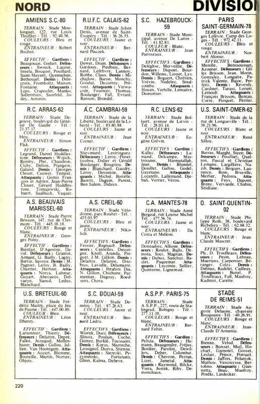 1977 D3 :  EFFECTIF et RESULTATS , le 30/06/1977