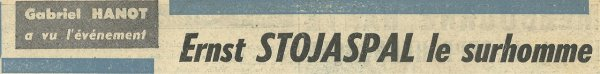 1954 D1 J25 REIMS STRASBOURG 1-2, le 30/01/1955