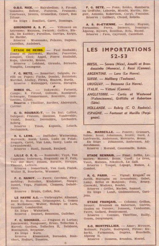 1952 D1 J00 : Sur la Ligne de départ , le 03/08/1952
