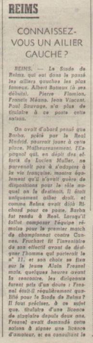1969 D2 J03 BESANCON REIMS 0-2, le 27/08/1969