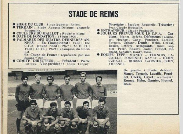 1969 CFA J28 EFFECTIF et  RESULTATS, le 30/06/1970