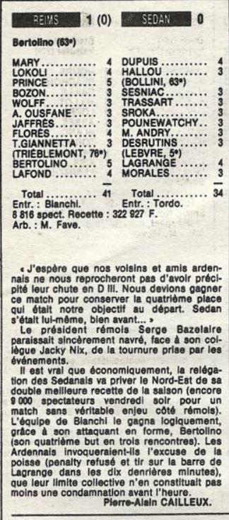 1985 D2B J32 REIMS SEDAN 1-0, le 28/03/1988