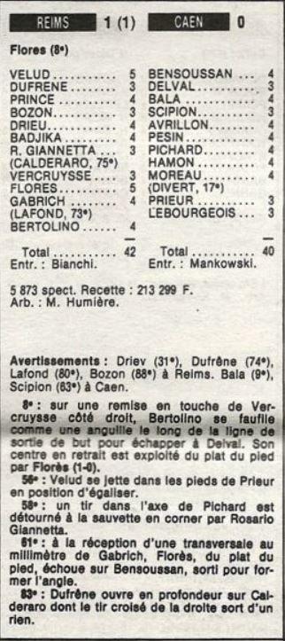 1986 D2A J04 REIMS CAEN 1-0, le 23/08/1986
