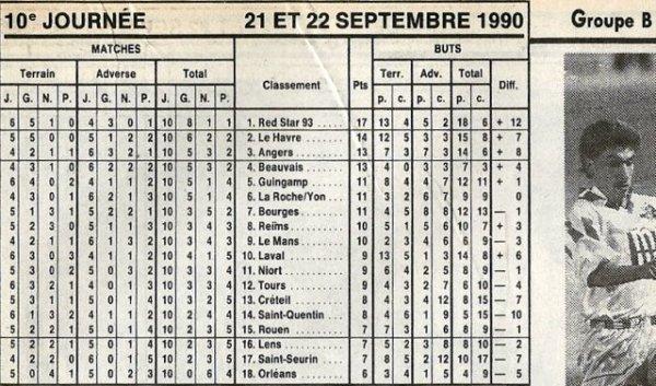 1990 D2B J10 REIMS LE MANS 0-0, le 21/09/1990