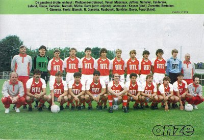 RECAPITULATIF de la saison 1984-1985