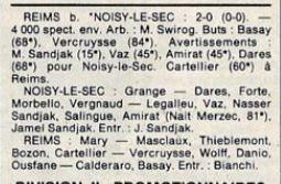 1987 CDF 8ème Tour NOISY LE SEC REIMS 0-2, le 13/02/1988