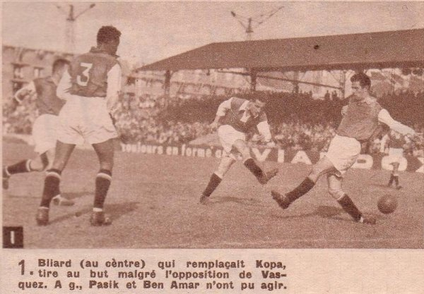 1952 AMICAL RED STAR REIMS 0-6, le 02/09/1952