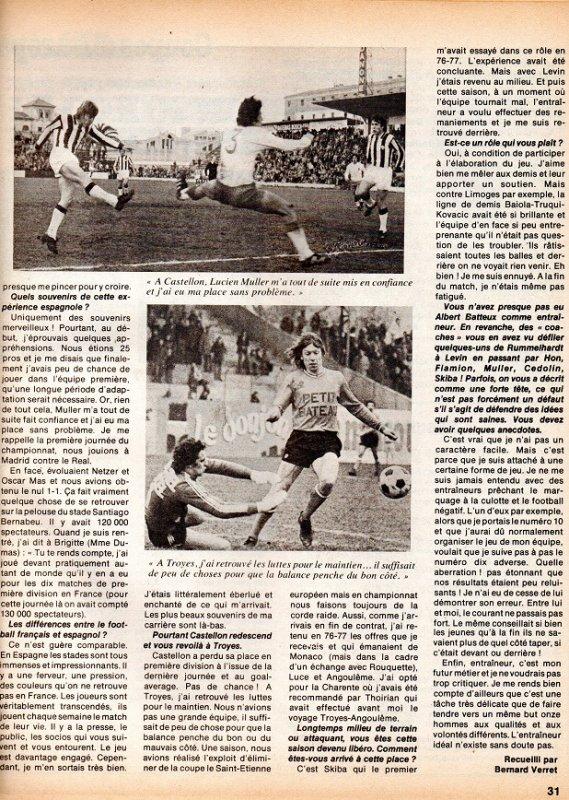 1979  Ex Rémois : DUMAT : Quoi après ANGOULEME ??, le 15/12/1979