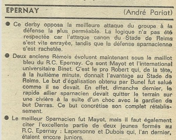 1975 D3 J08 EPERNAY REIMS 1-1, le 26/10/1975