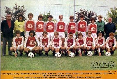 RECAPITULATIF de la saison 1981-1982