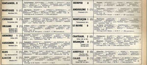 1981 D2B J06 DUNKERQUE REIMS 1-4, le 02/09/1981