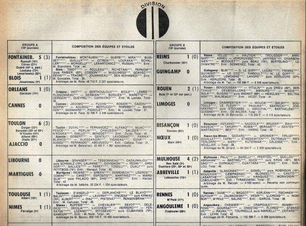 1981 D2B J10 REIMS GUINGAMP 1-0, le 26/09/1981