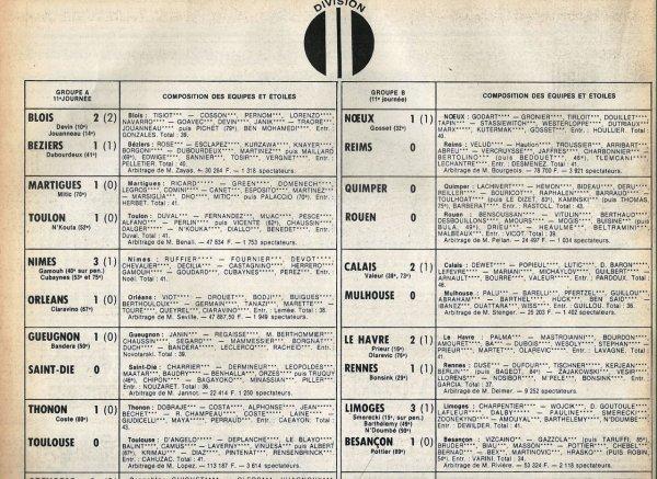 1981 D2B J11 NOEUX LES MINES REIMS 1-0, le 03/10/1981
