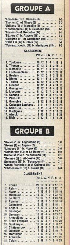 1981 D2B J12 REIMS ANGERS 1-1, le 09/10/1981