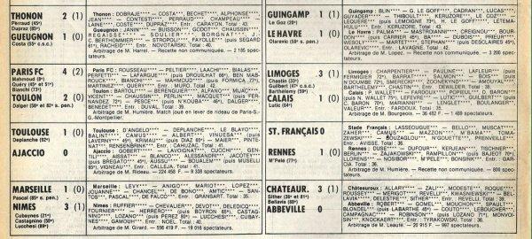 1981 D2B J16 REIMS QUIMPER 1-1, le 07/11/1981