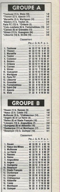 1981 D2B J33 REIMS STADE FRANCAIS 1-1, le 01/05/1982