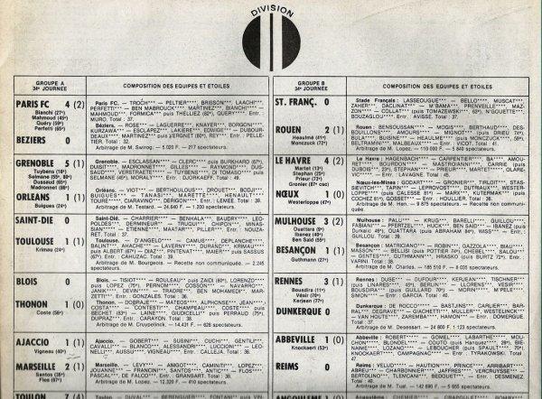 1981 D2B J34 ABBEVILLE REIMS 1-0, le 08/05/1982
