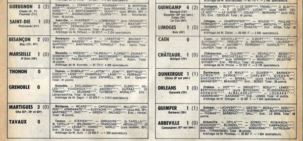 1980 D2B J03 REIMS PARIS FC 0-1, le 22/08/1980