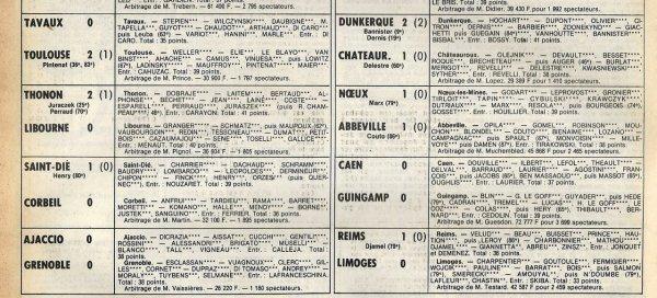 1980 D2B J09 REIMS LIMOGES 1-0, le 04/10/1980