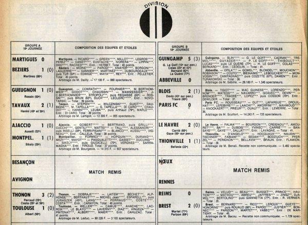 1980 D2B J18 REIMS BREST 0-2, le 05/12/1980