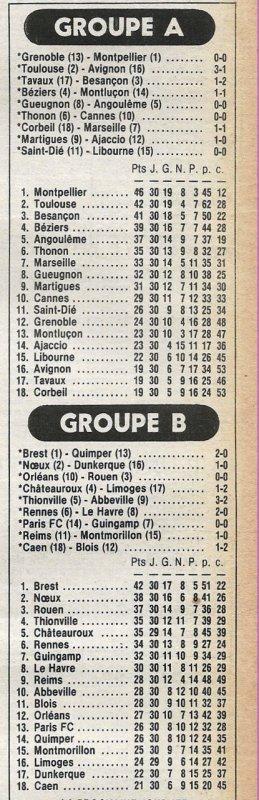 1980 D2B J30 REIMS MONTMORILLON 1-0, le 26/04/1981