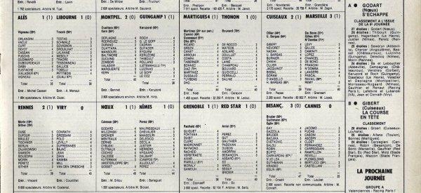 1982 D2B J06 REIMS MONTCEAU 4-0, le 03/09/1982