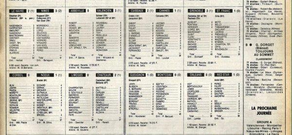 1982 D2B J19 REIMS BESANCON 1-0, le 04/12/1982