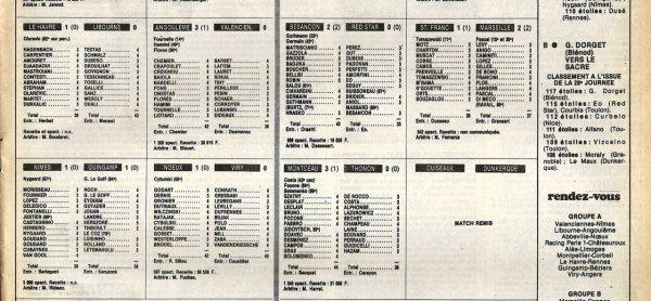 1982 D2B J29 REIMS ORLEANS 2-0, le 08/04/1983