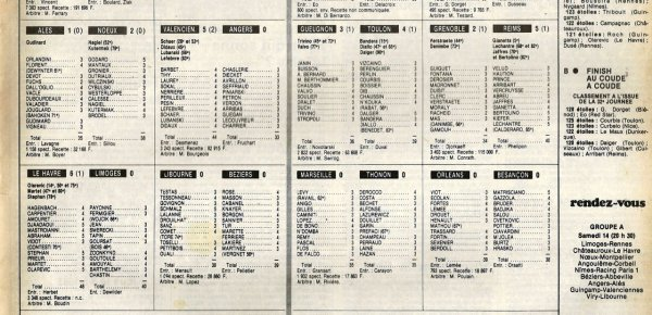 1982 D2B J32 GRENOBLE REIMS 2-5, le 07/05/1983