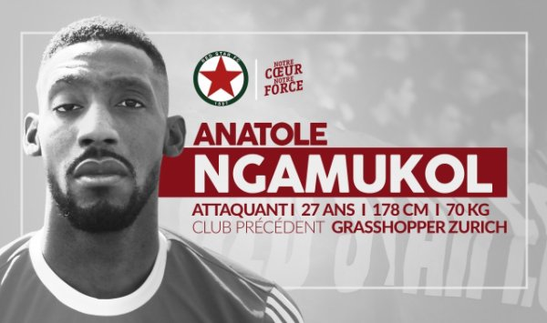 2015 Ex-rémois : ANATOLE signe au RED STAR, le 20/08/2015