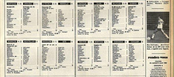 1983 D2B J02 REIMS LE HAVRE 4-2, le 29/07/1983