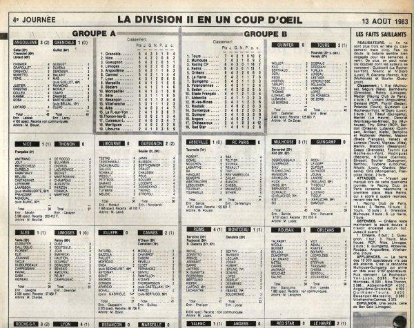 1983 D2B J04 REIMS MONTCEAU 4-1, le 12/08/1983