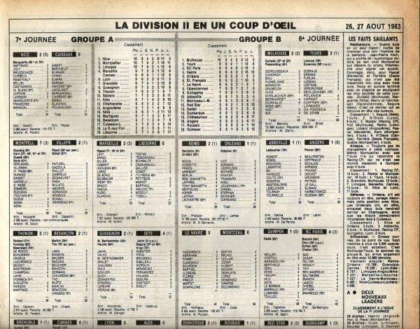 1983 D2B J06 REIMS ORLEANS 2-1, le 26/08/1983
