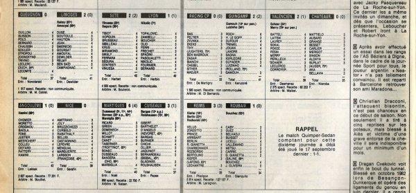 1983 D2B J10 REIMS ROUBAIX 3-1, le 28/09/1983