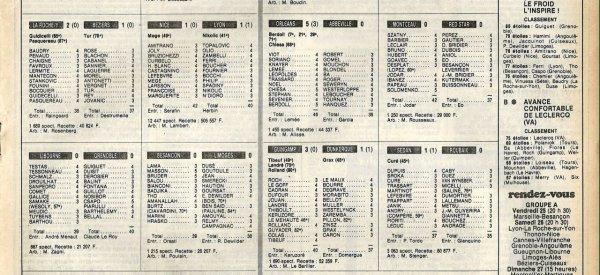 1983 D2B J18 LE HAVRE REIMS 2-2, le 19/11/1983