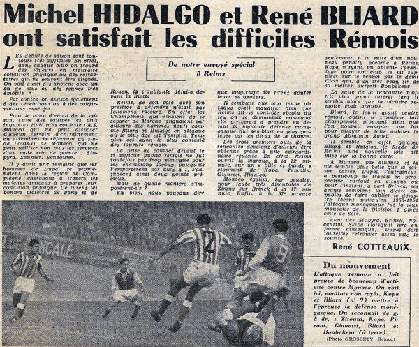 1954 D1 J01 REIMS MONACO 3-1, le 22/08/1954