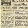 1954 D1 J11 NÎMES REIMS 0-2, le 24/10/1954