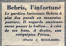 1954 CDF32 REIMS LORIENT 5-1, le 06/02/1955
