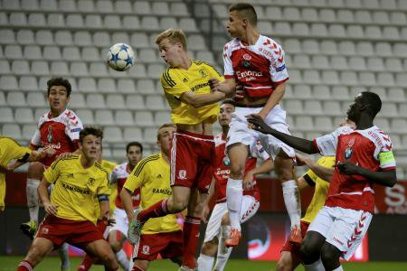2015 YOUTH LEAGUE  1er Tour : REIMS MIDDLESBROUGH 5-3, le 30/09/2015