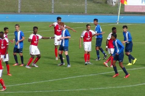 2015 U17 Championnat national GR B : les Feuilles de match Phase Aller , le 18/12/2015