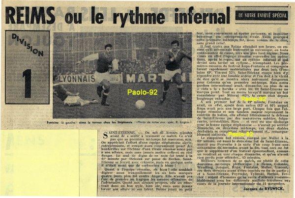 2015 Ligue 1 J12 SAINT-ETIENNE REIMS, l'avant match, le 30/10/2015