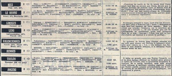 1959 D1 J36 REIMS SAINT-ETIENNE 3-0, le 07/05/1960