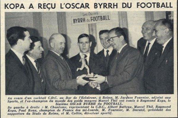 1961 D1 L'OSCAR des OSCARS BYYRH, lel 12/06/1962