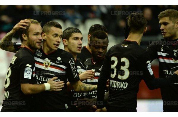 2015 Ligue 1 J18 REIMS NICE 1-1, le 12/12/2015
